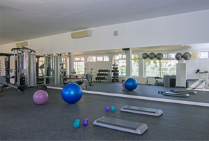 Gym equipment Rocha Brava