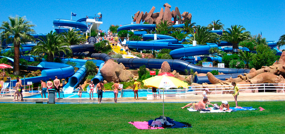 Water slides Rocha Brava