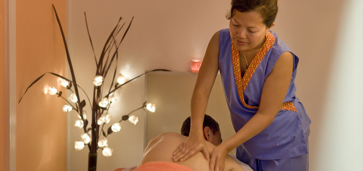 Massage at Rocha Brava