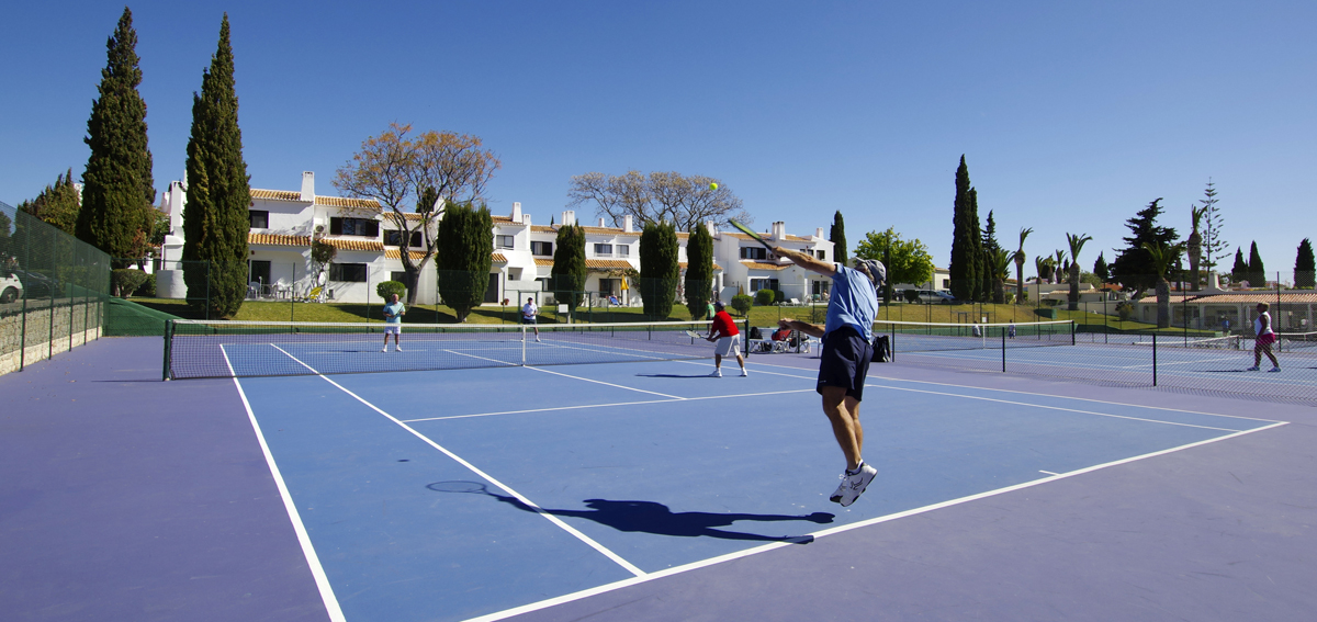 Tennis court of Rocha Brava