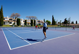 Tennis court Rocha Brava