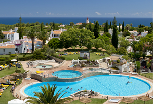 rocha brava village resort portugal swimming pool