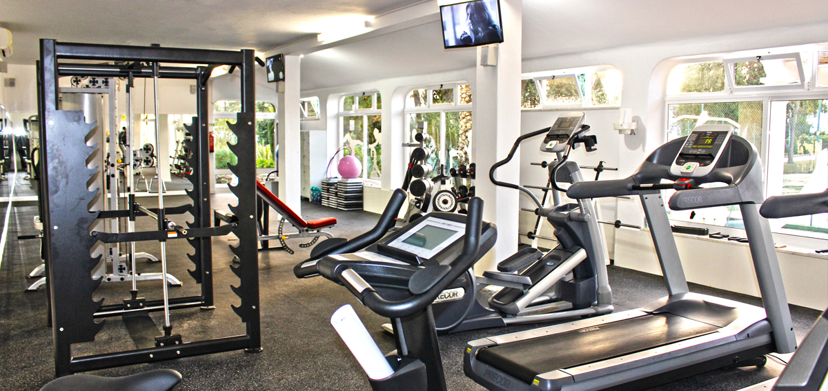 Rocha Brava Village Resort gym equipment